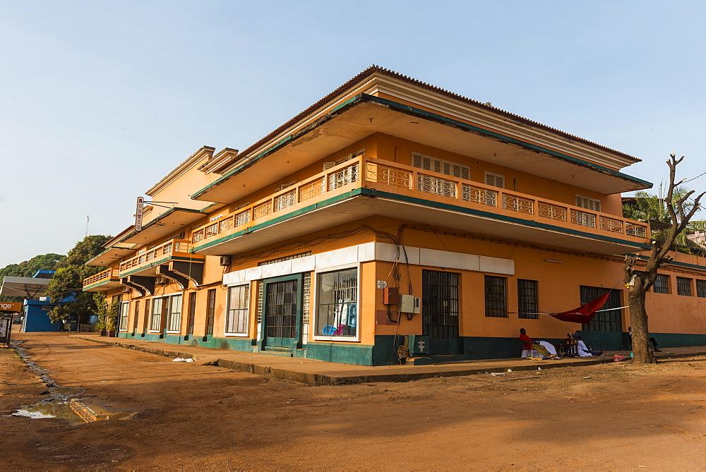 Portuguese architecture, Bissau, Guinea Bissau - 1184-2294