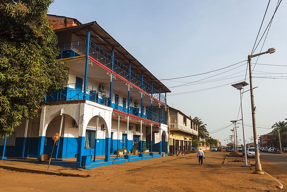 Old Portuguese architecture, Bissau, Guinea Bissau