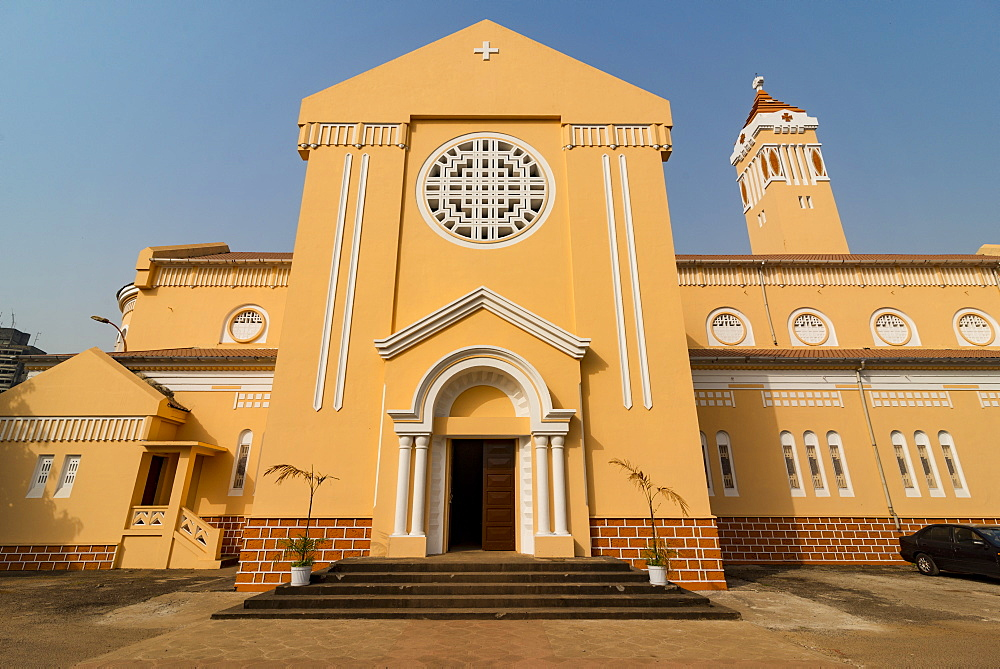 The Cathedral of Conakry, Conakry, Republic of Guinea, West Africa, Africa