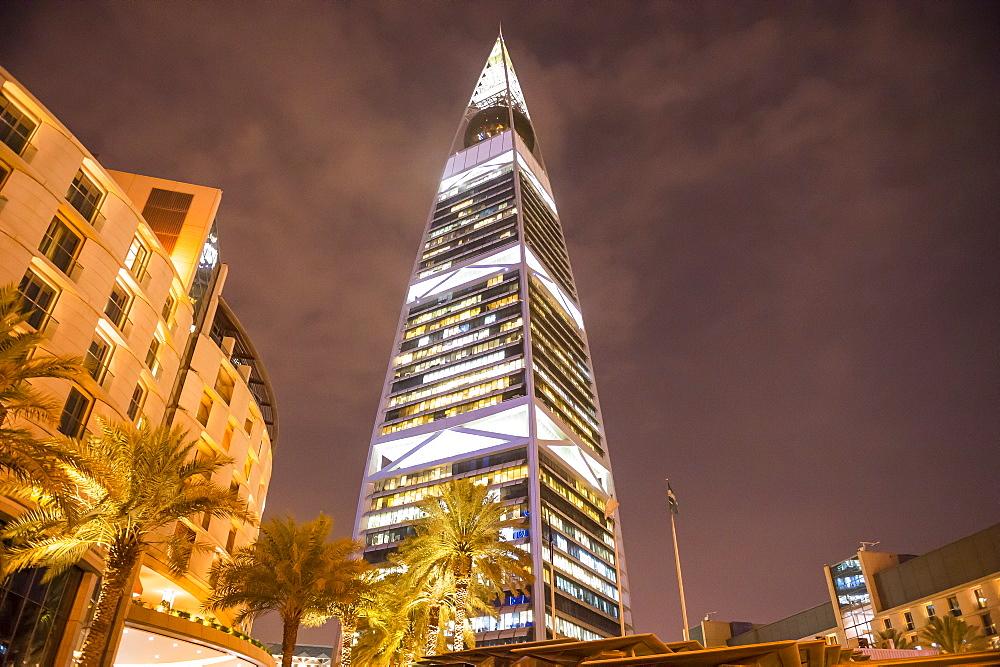 Al Faisaliyah Centre skyscraper, Riyadh, Saudi Arabia, Middle East