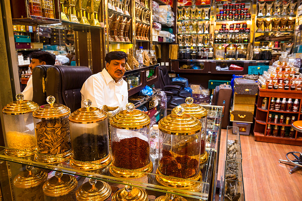 Spice shop, Riyadh, Saudi Arabia, Middle East