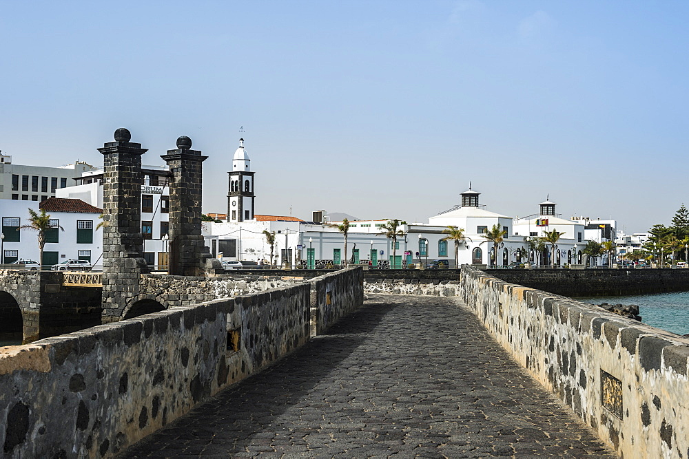 Castle San Gabriel, Arrecife, Lanzarote, Canary Islands, Spain, Atlantic, Europe