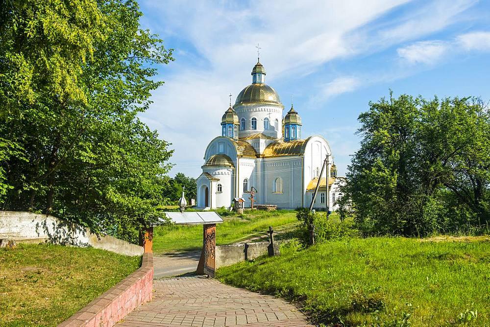 Orthodox Church, Nyzhniy Verbizh, Ukraine, Europe