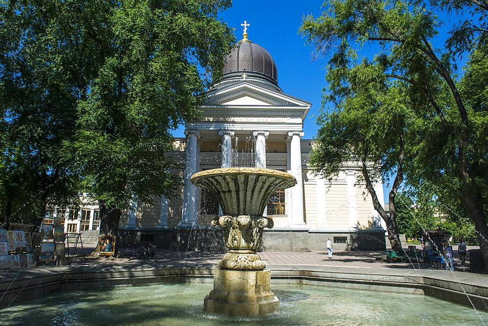 Transfiguration Cathedral, Odessa, Black Sea, Ukraine, Europe