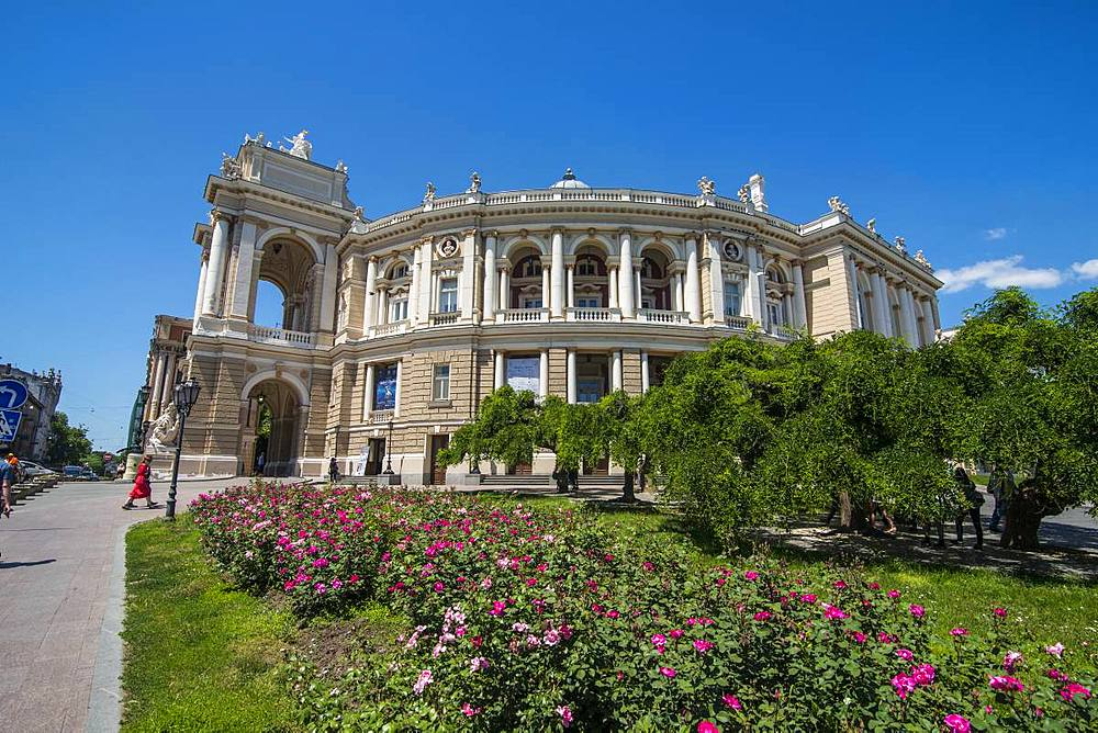 Odessa National Academic Theater of Opera and Ballet, Odessa, Black Sea, Ukraine, Europe