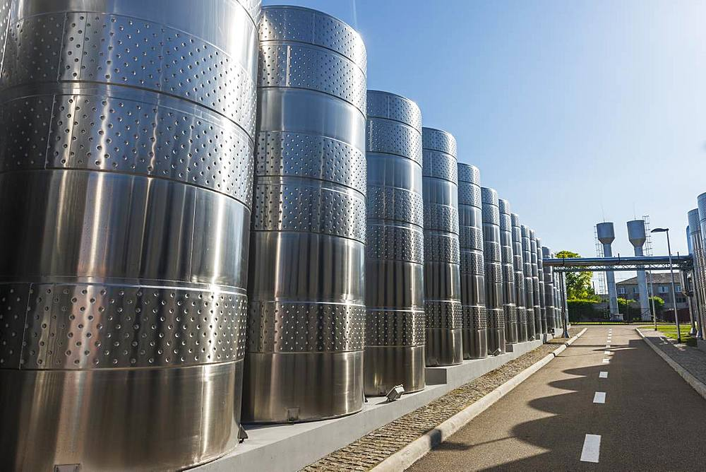 Modern Shabo winery, Black Sea, Ukraine, Europe