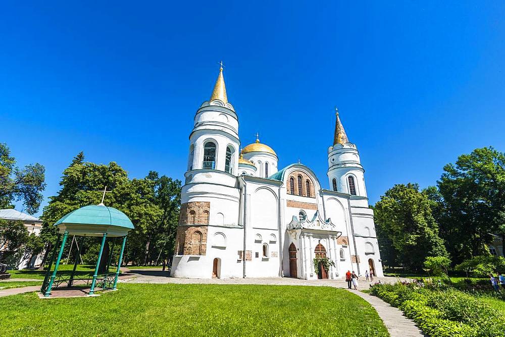 Transfiguration Cathedral, Chernihiv, Ukraine, Europe