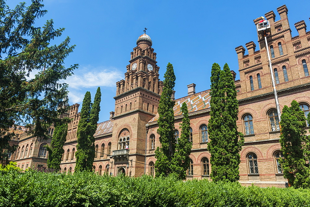 University of Chernivtsi, UNESCO World Heritage Site, Chernivtsi, western Ukraine, Europe