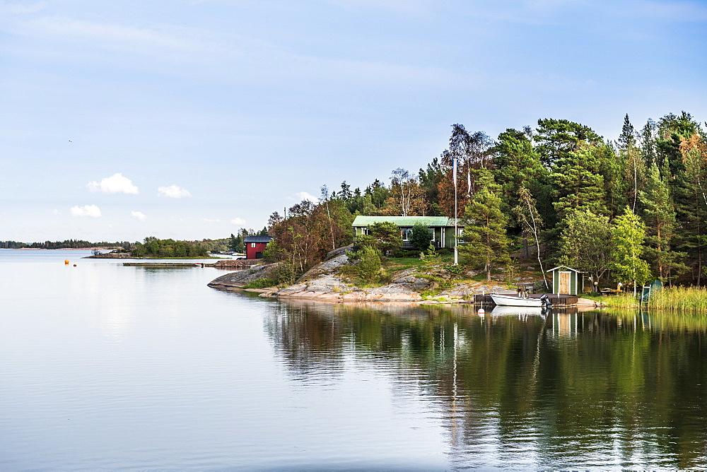 Fjord outside Mariehamn, Aland, Finland, Europe