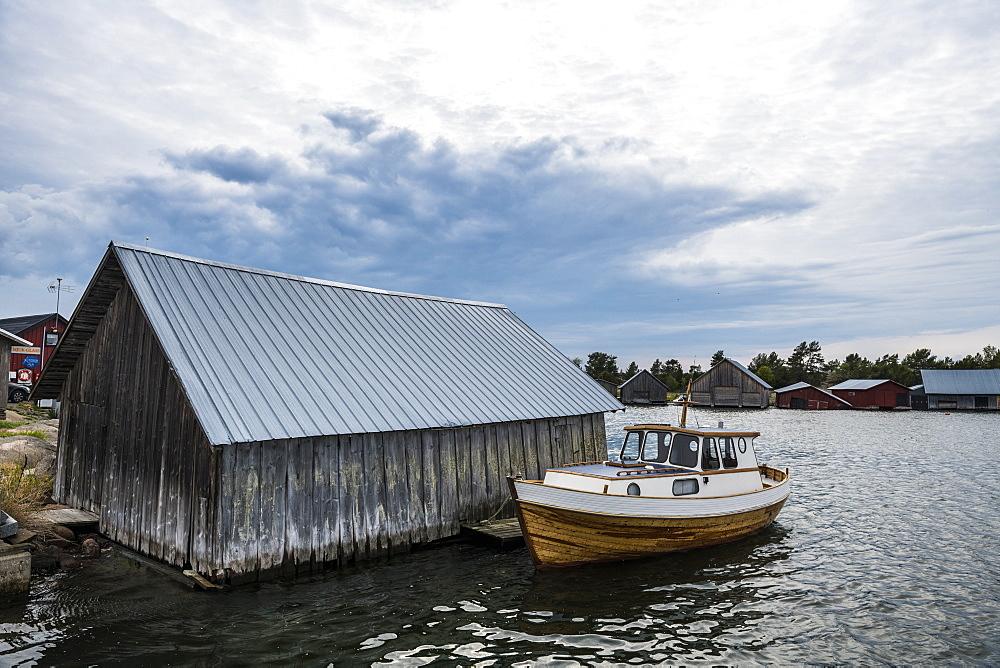 Fishery museum of Eckeroe, Aland, Finland, Europe