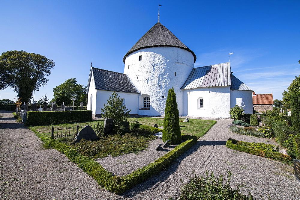 Nylars round church, Bornholm, Denmark