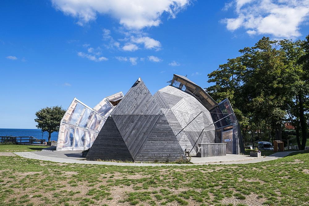 Cultural center, Allinge- Sandvig Sogn, Bornholm, Denmark
