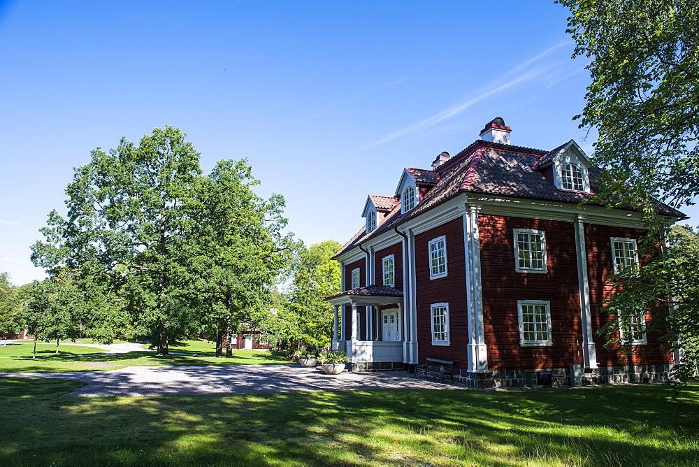 The Engelsberg Ironworks mine, UNESCO World Heritage Site, Sweden, Scandinavia, Europe