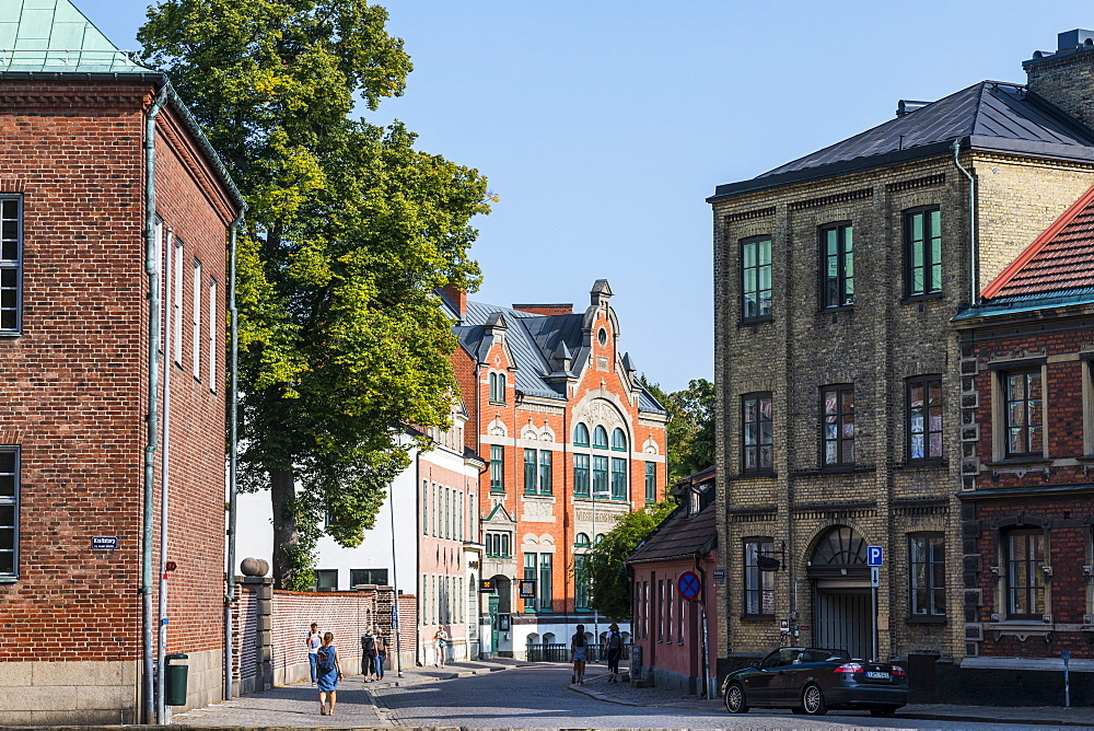 Historical buildings in Lund, Sweden