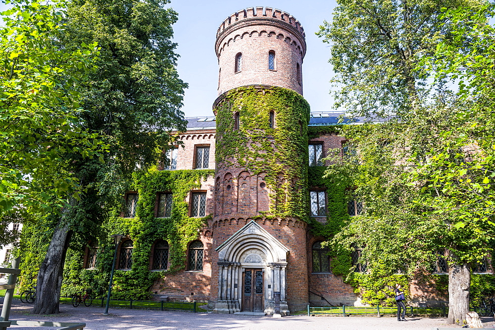 Lund University building, Lund, Sweden, Scandinavia, Europe