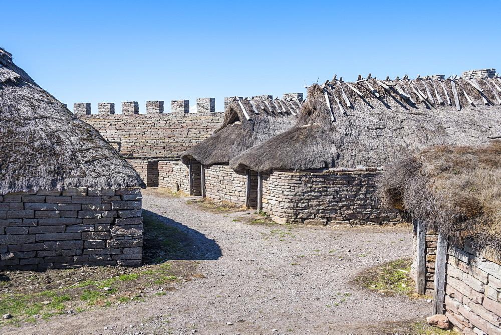 Eketorp Fortress, Oland, Sweden, Scandinavia, Europe