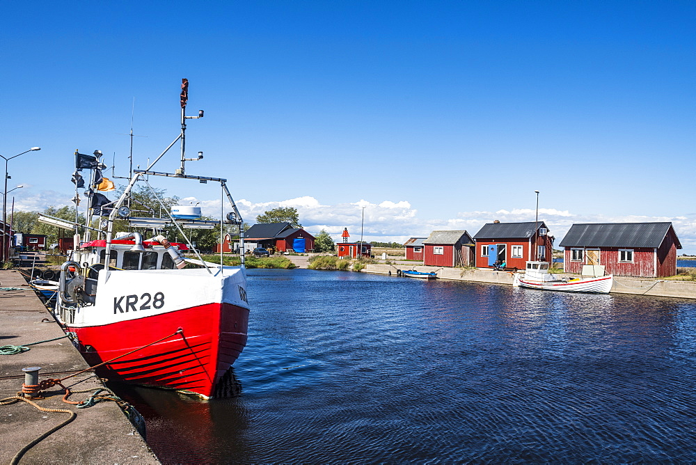 Grasgard harbour, Oland, Sweden