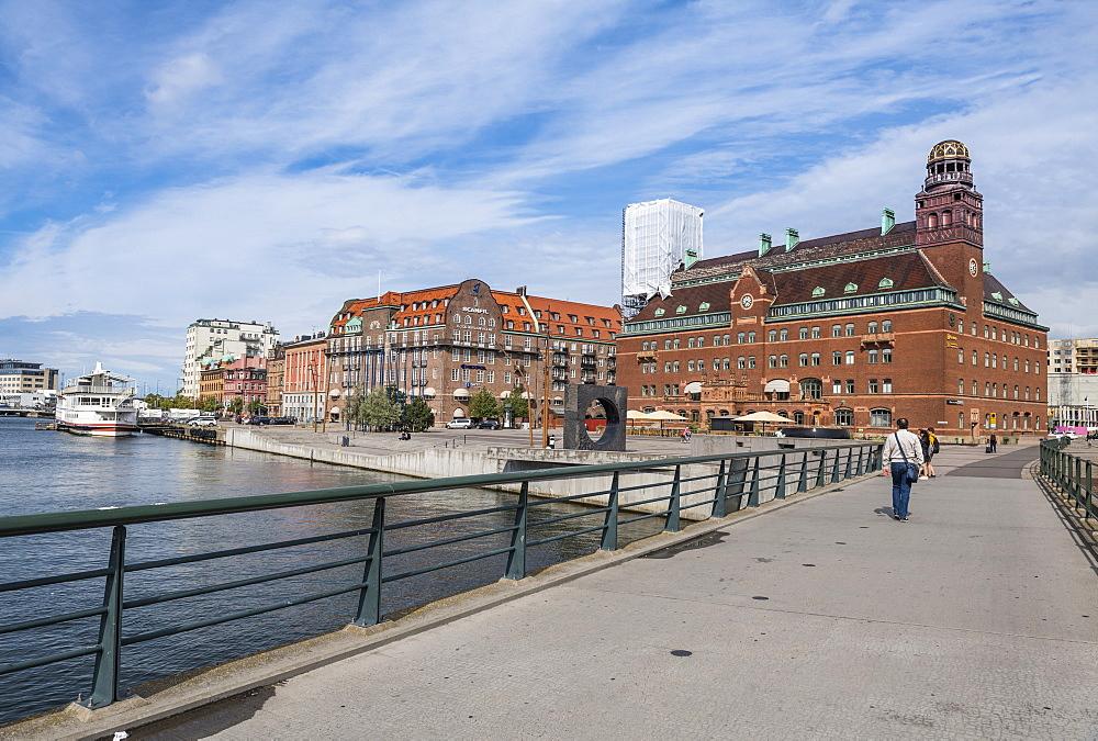 Central post office, Malmo, Sweden, Scandinavia, Europe