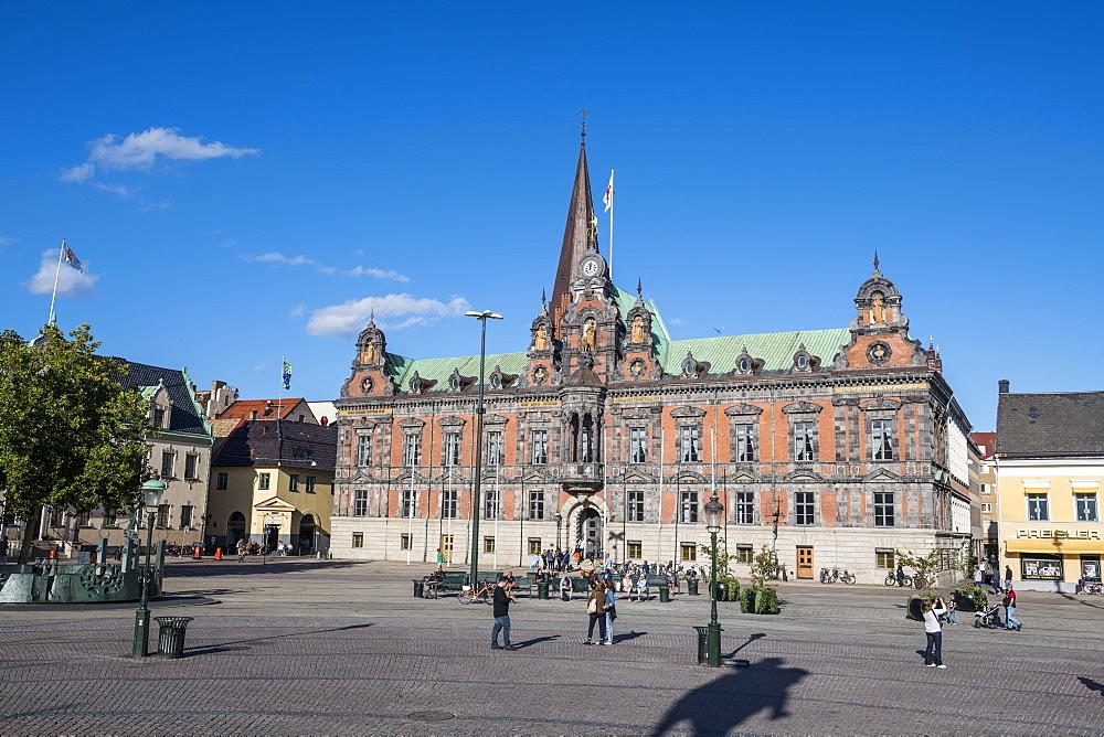 Malmo's old City Hall, Malmo, Sweden, Scandinavia, Europe