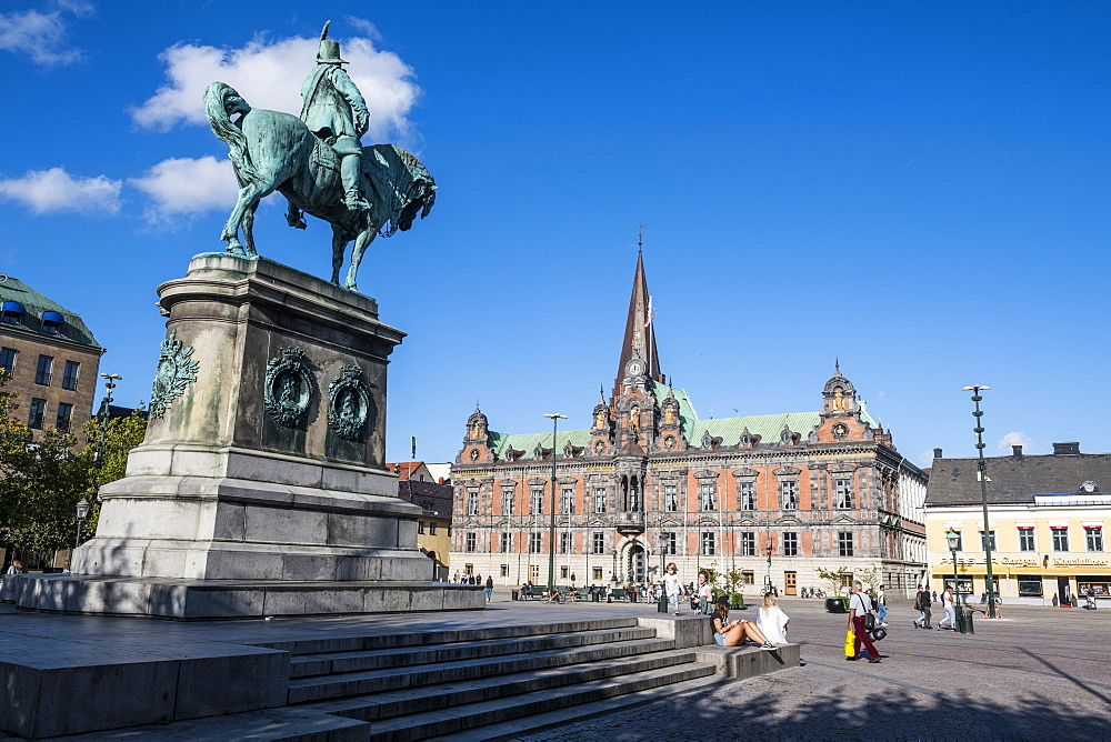 Karl Gustav statue, Malmo, Sweden