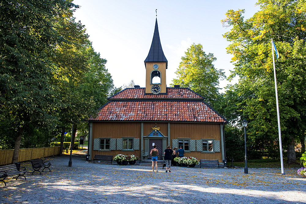Old town hall of Sigtuna, oldest town of Sweden