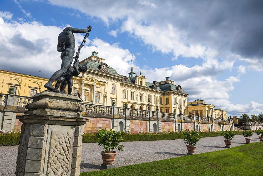 Drottningholm Palace, UNESCO World Heritage Site, Stockholm, Sweden, Scandinavia, Europe
