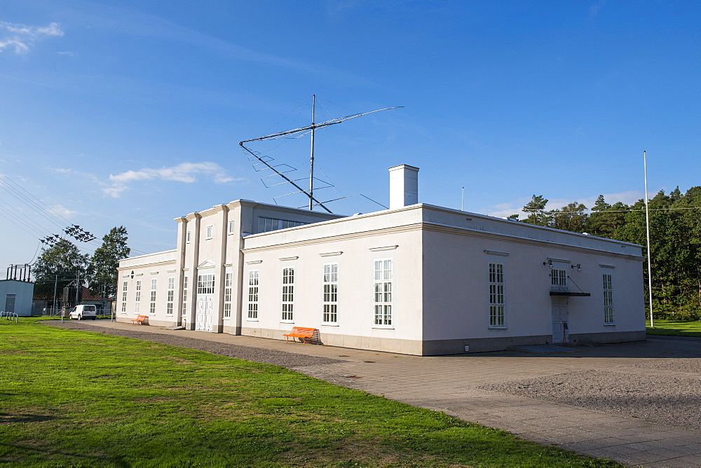 UNesco world heritage sight, Grimeton Radio Station, Varberg, Sweden