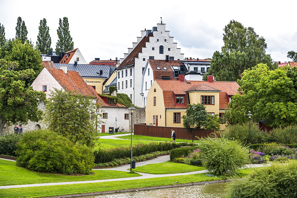 UNesco world heritage sight the town of Visby, Gotland, Sweden