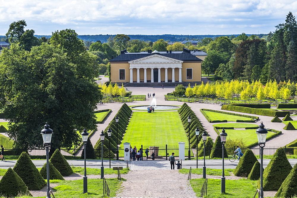 Bptanical garden of Uppsala, Sweden