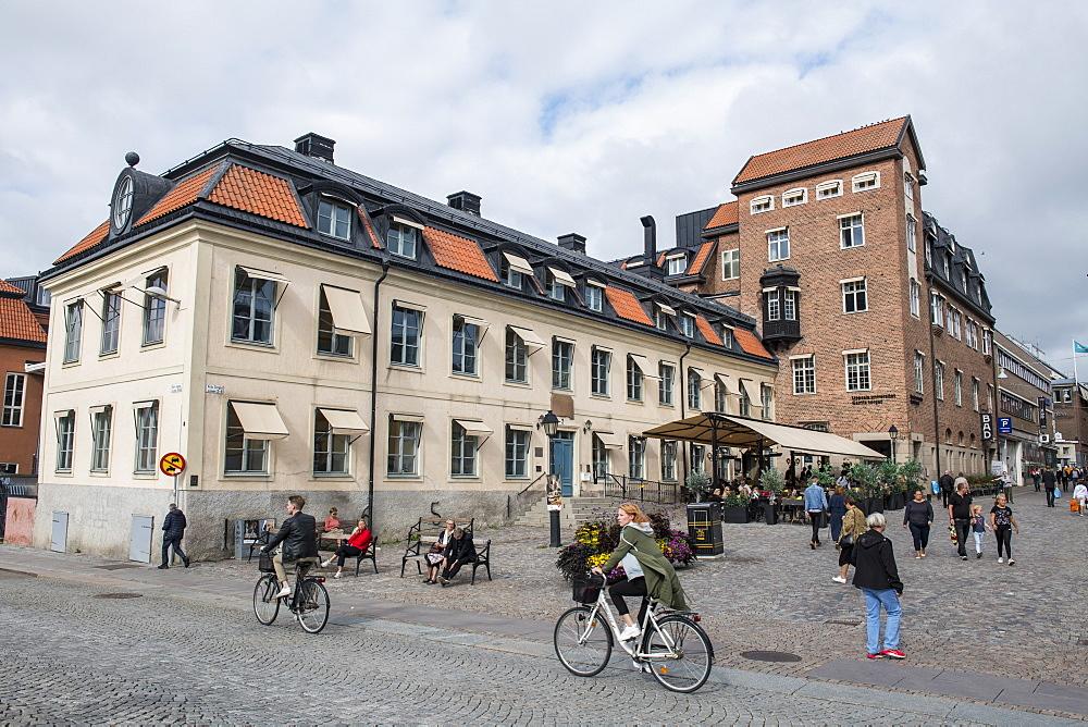 Center of Uppsala, Uppsala, Sweden, Scandinavia, Europe