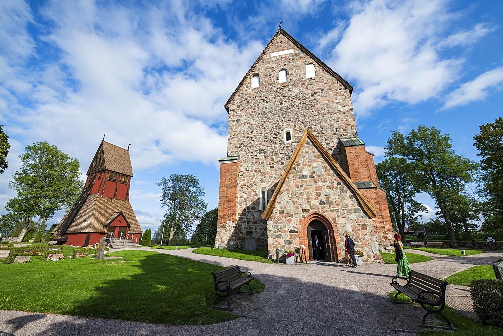 Gamla Uppsala church, Uppsala, Sweden
