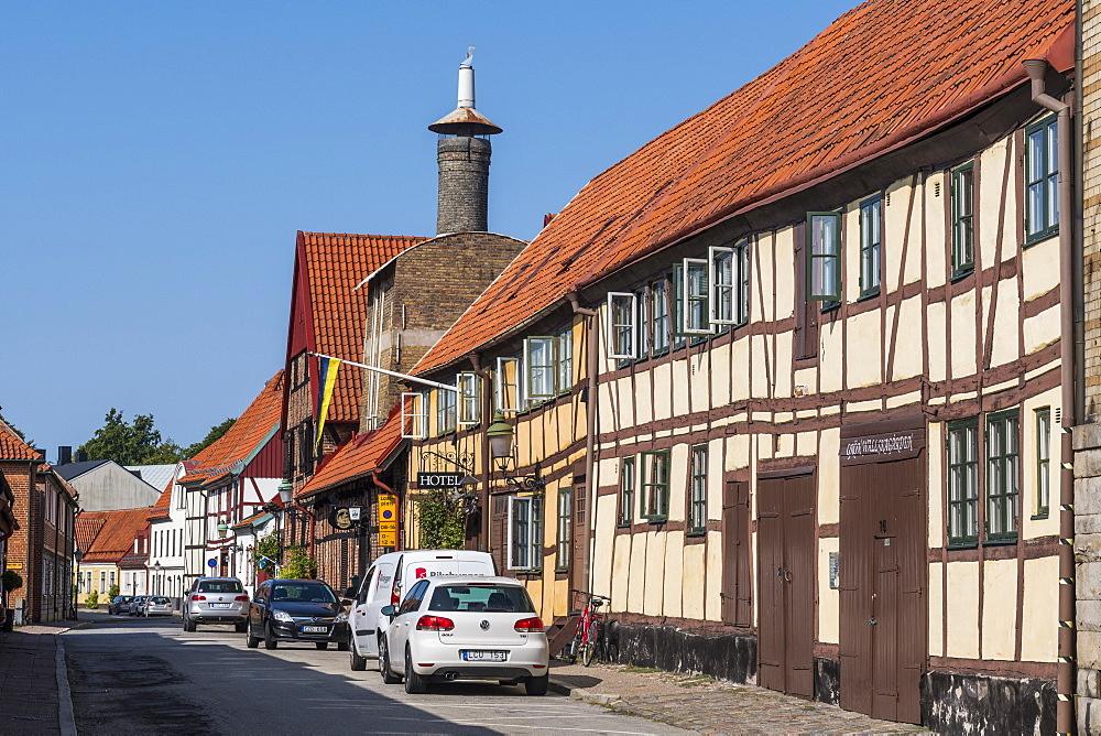 Historic town of Ystad, Sweden, Scandinavia, Europe