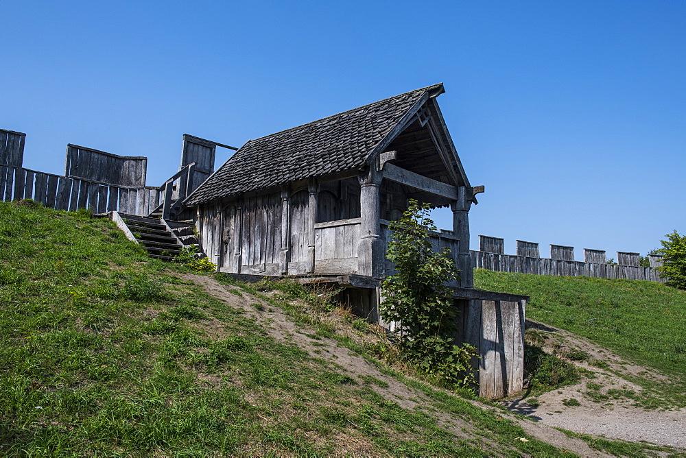 Trelleborg Viking ring Fortress, Trelleborg, Sweden, Scandinavia, Europe