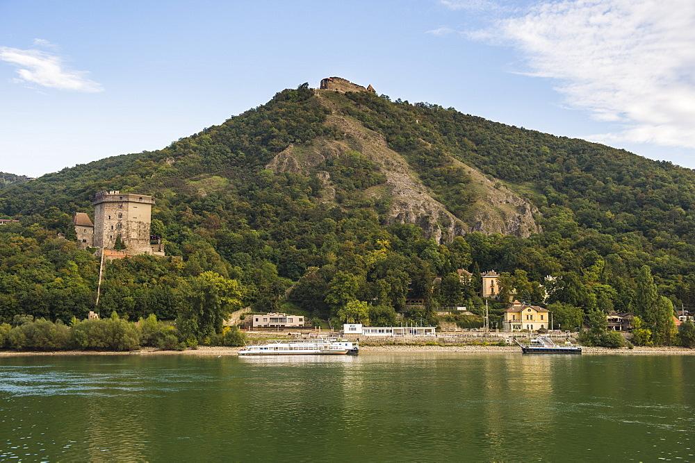 Castle Visegrad on the Danube River, Hungary, Europe