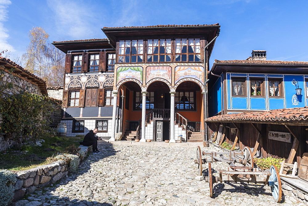 Oslekov house, Koprivshtitsa, Bulgaria, Europe