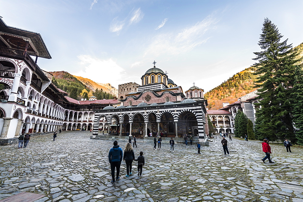 Church of the Nativity of the Virgin Mother , UNESCO World Heritage Site, Rila Monastery, Rila mountains, Bulgaria, Europe