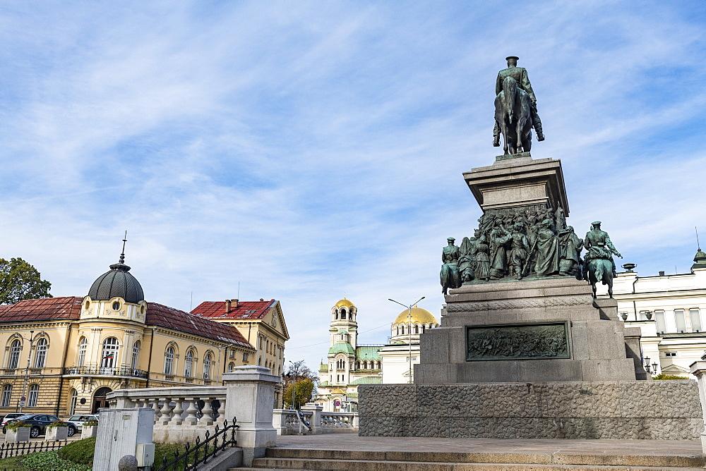 Tsar Osvoboditel monument, Sofia, Bulgaria, Europe