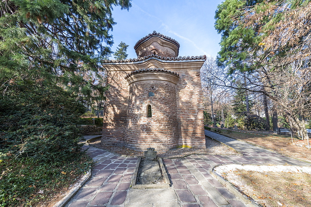 Unesco world heritage sight Boyana Church, Sofia, Bulgaria