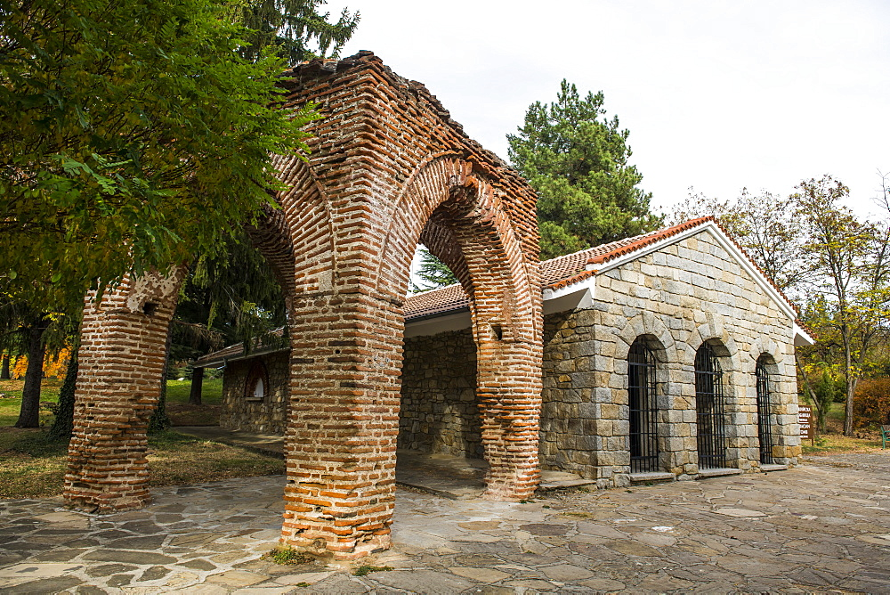 Unesco world heritage the Thracian Tomb of Kazanlak, Bulgaria - 1184-2951