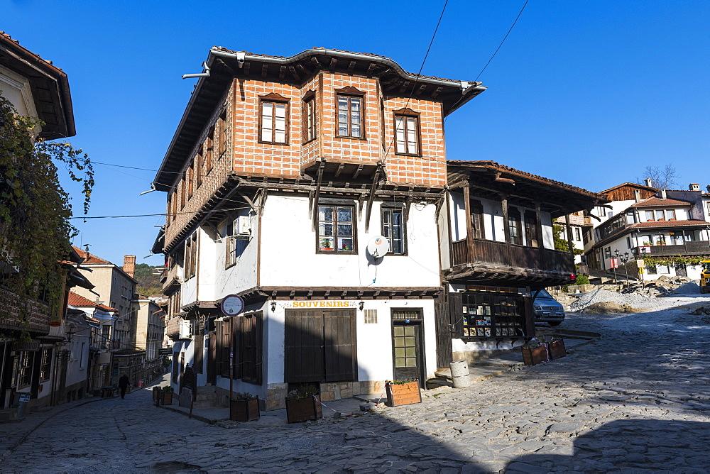 The old town of Veliko Tarnovo, Bulgaria - 1184-2958
