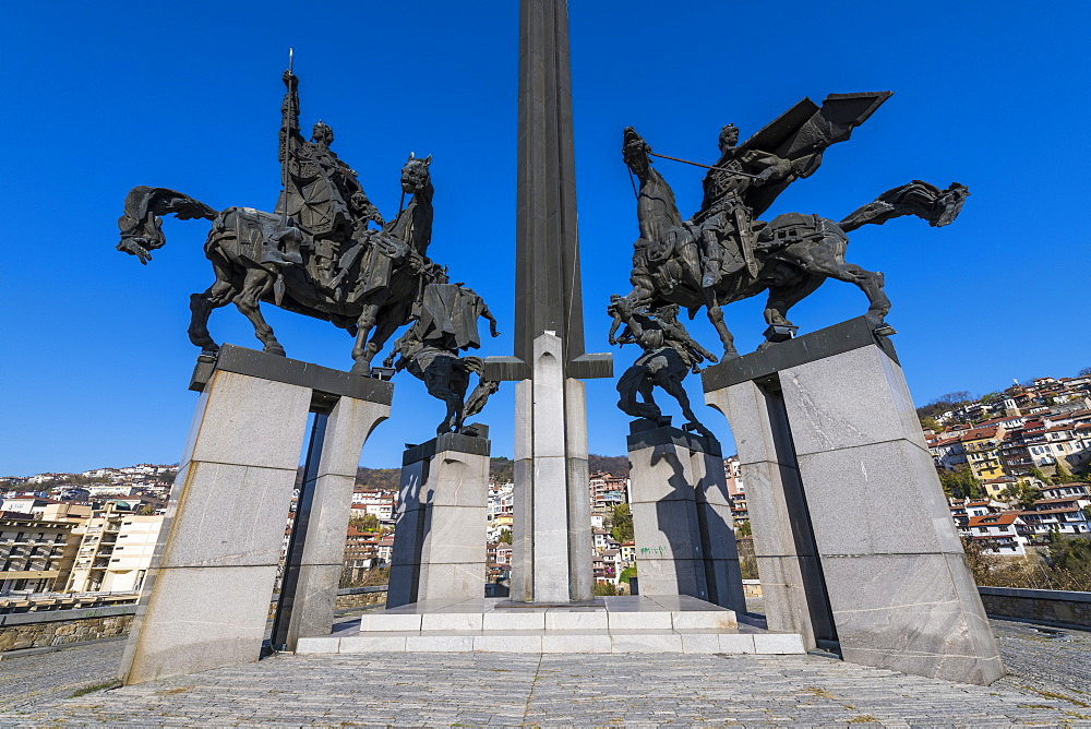 The Monument of Asenevci, Veliko Tarnovo, Bulgaria - 1184-2959