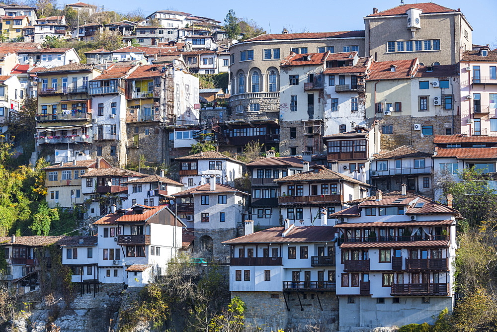 Veliko Tarnovo above the Yantra river, Bulgaria - 1184-2960