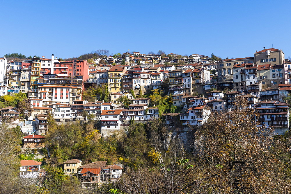 The old town of Veliko Tarnovo, Bulgaria - 1184-2962