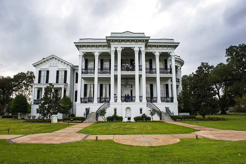 Plantation house in the Nottoway plantation, Louisiana, United States of America, North America