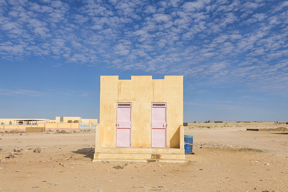 Tradtional house, Sahel, Chad, Africa