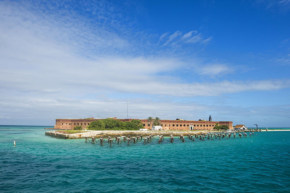 Fort Jefferson, Dry Tortugas National Park, Florida Keys, Florida, United States of America, North America