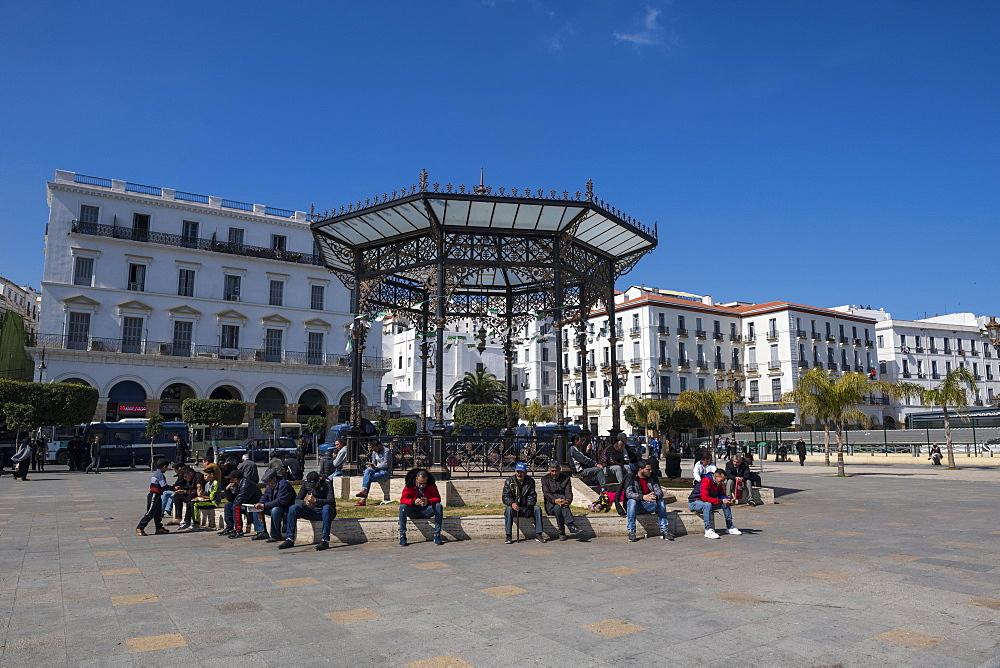 Martyrs Square, Algiers, Algeria, North Africa, Africa