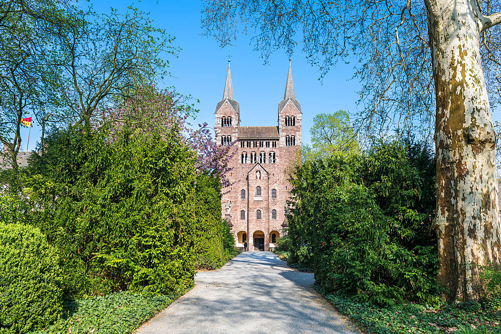 Unesco world heritage sight,Princely Abbey of Corvey, North Rhine-Westphalia, Germany