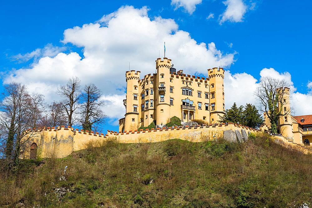 Castle Hohenschwangau,, Schwangau Bavaria, Germany