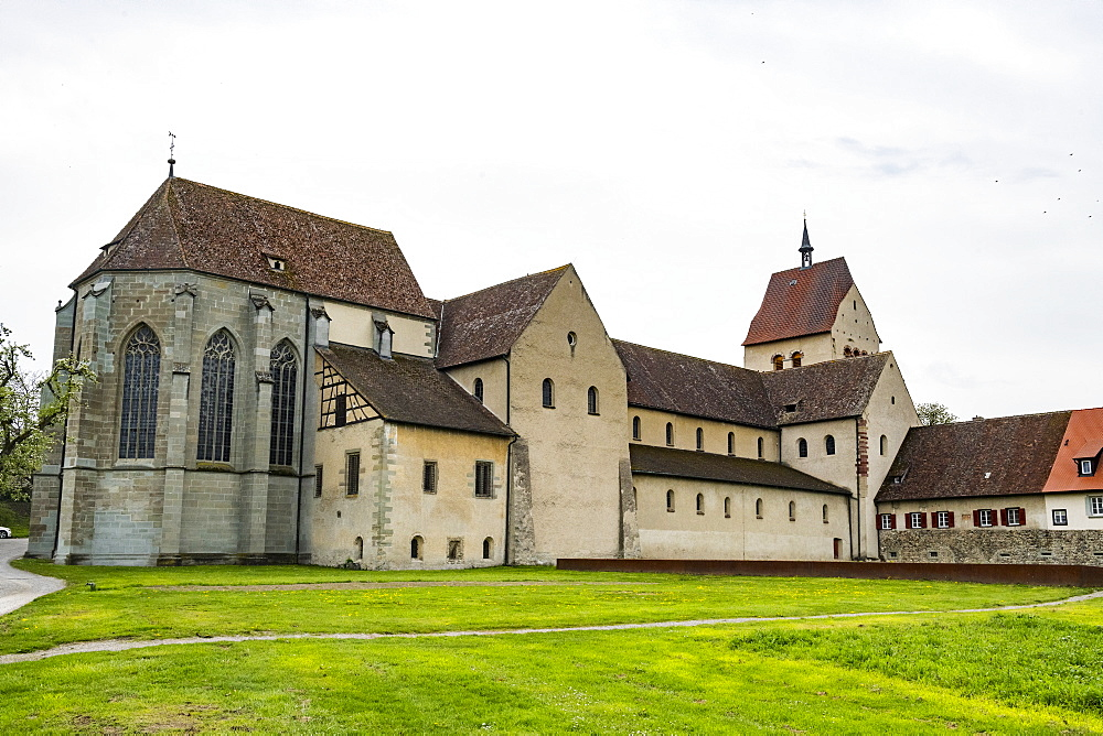 Benedictine Abbey of Reichenau, Reichenau Island, UNESCO World Heritage Site, Lake Constance, Baden-Wurttemberg, Germany, Europe